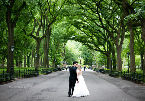 Trash the Dress de Uma manhã no Central Park | Carol & Marcos | NYC