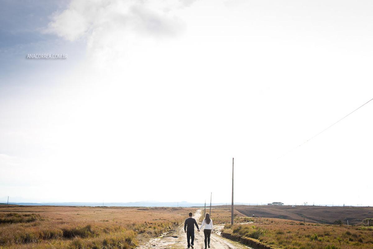 Ensaio Livia + Eder | Um dia na serra
