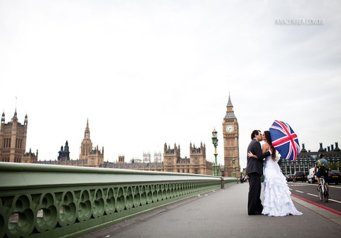 Trash the Dress de Bruna & Marcelo | Londres
