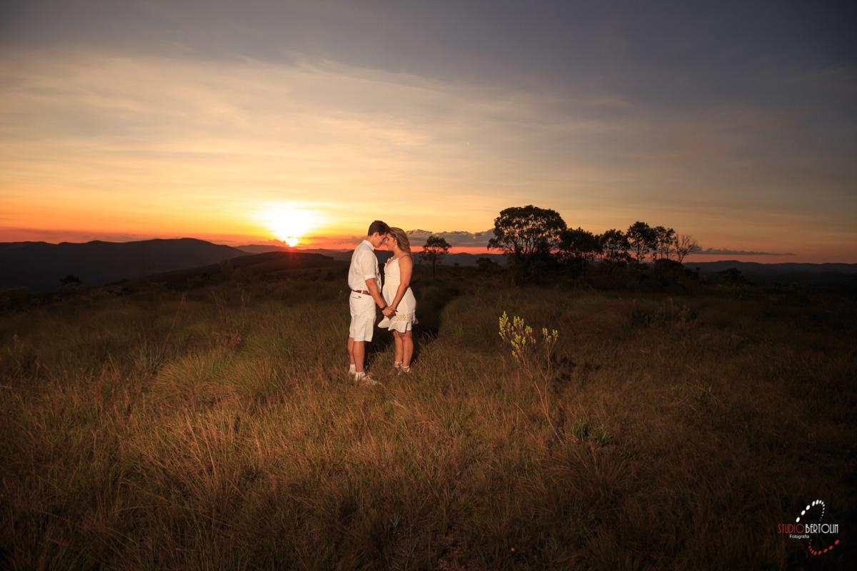 por do sol casal