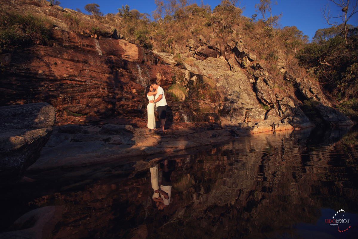 cachoeira serra do caraça