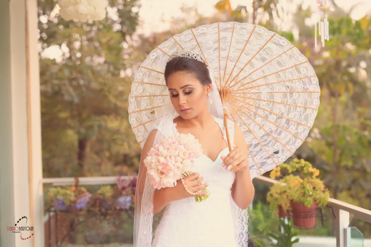 sombrinha para noiva