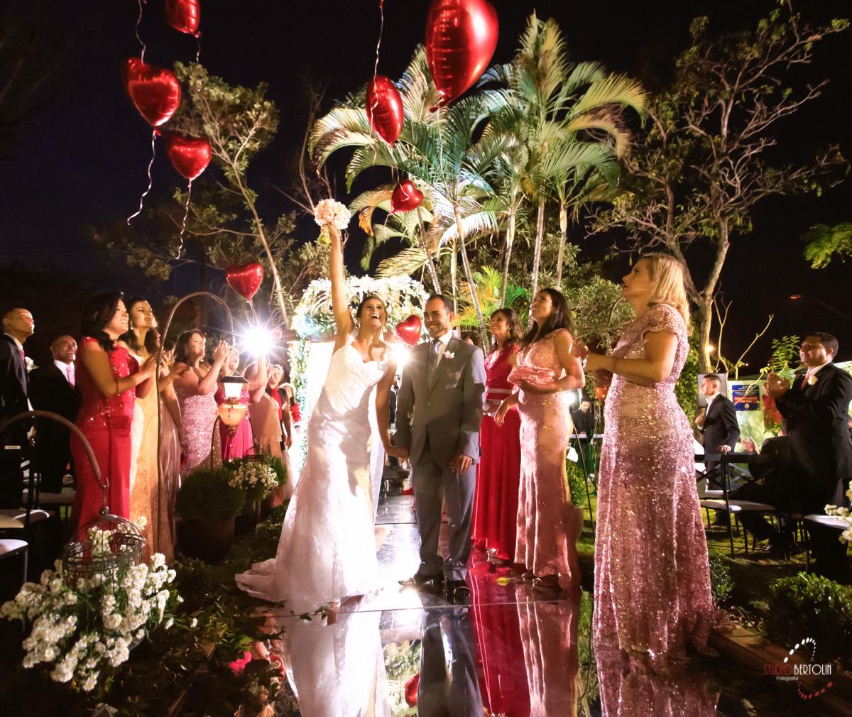 balão casamento
