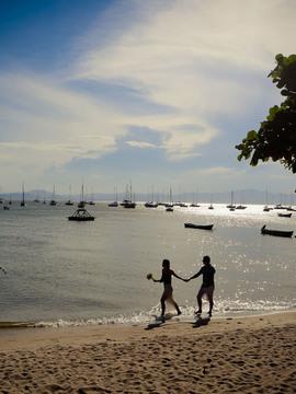 Ensaios de Fernando e Mairita em Florianópolis - SC