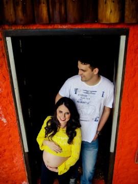 Gestantes de Julio e Thalia = Lucca em Joinville - SC