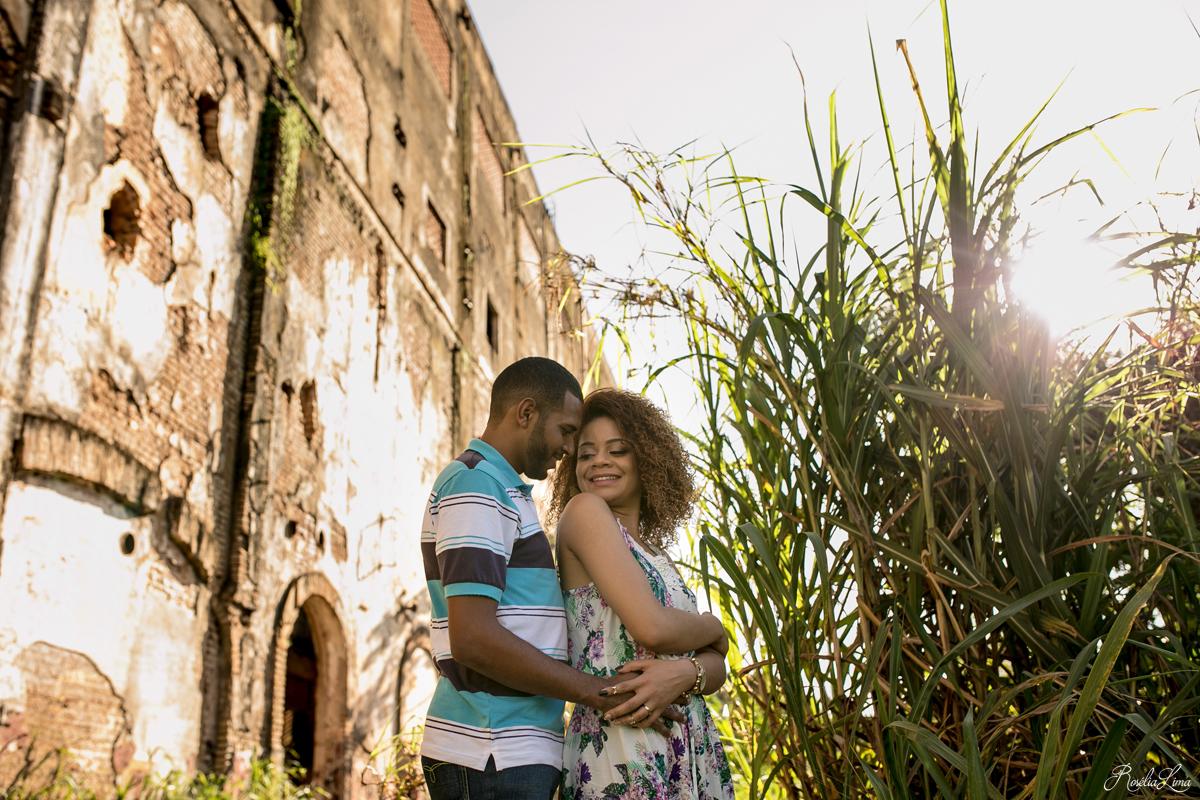 Foto de Maria Helena e Luís Henrick