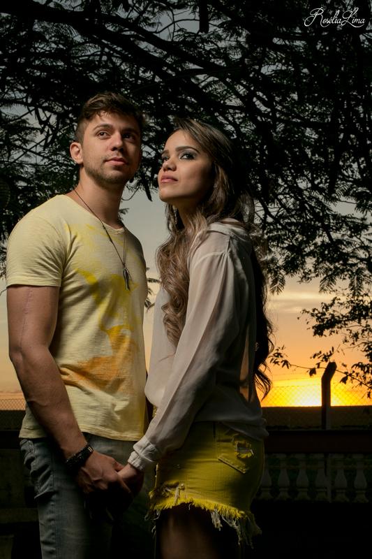 Foto de Sabrina e Dario