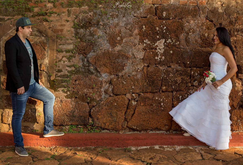 Foto de Tati e Fábio