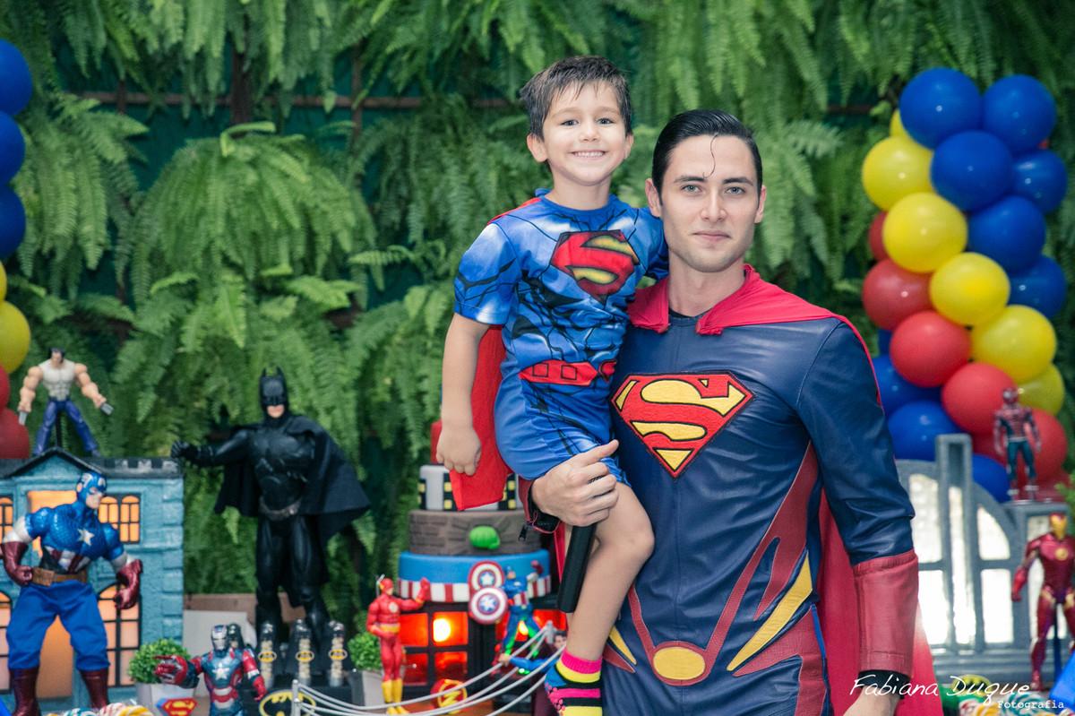 tema super heróis