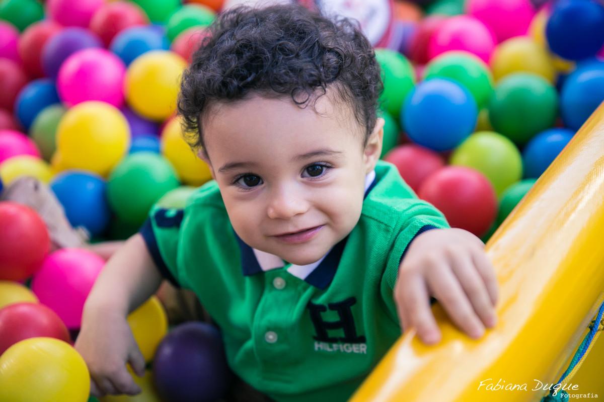 Festa infantil de 1 ano do Vinicius