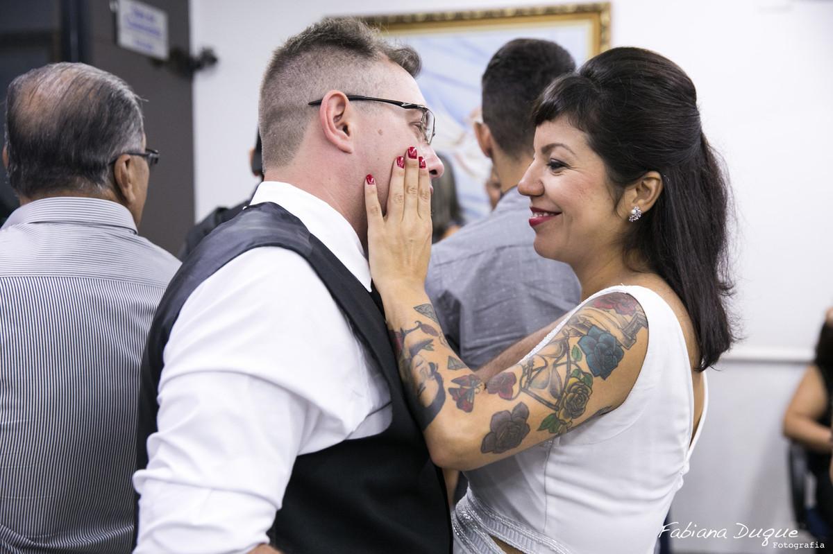 Casamento civil no cartório em São Bernardo do Campo, SP