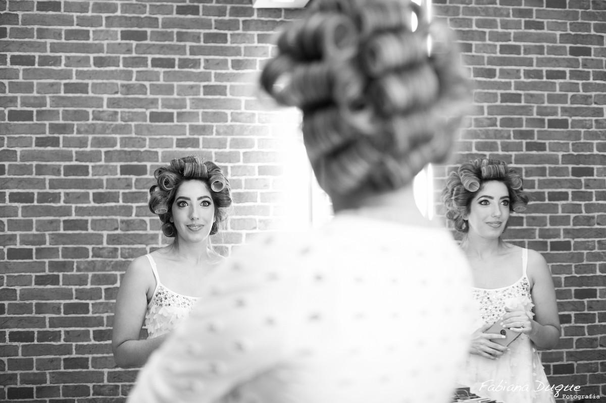 Making of da noiva no salão