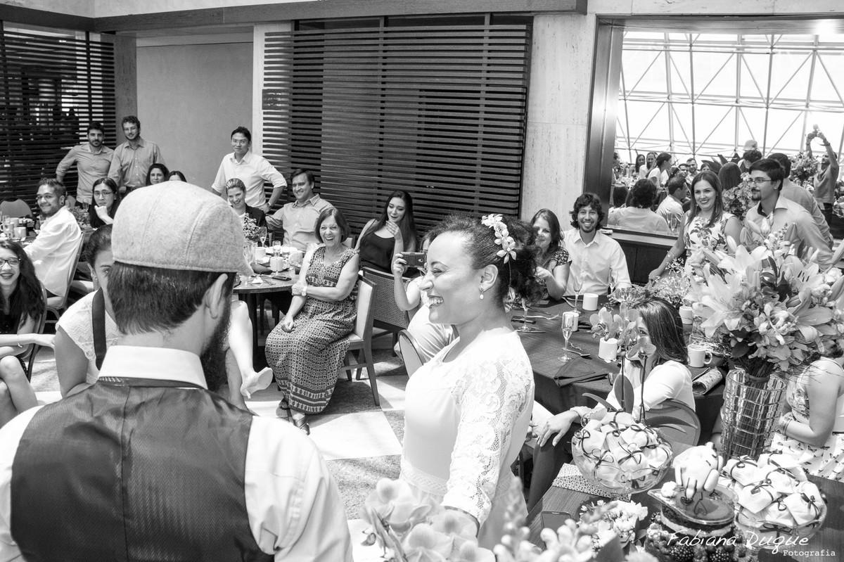 Troca de votos dos noivos, casamento no Hotel Renaissance em São Paulo
