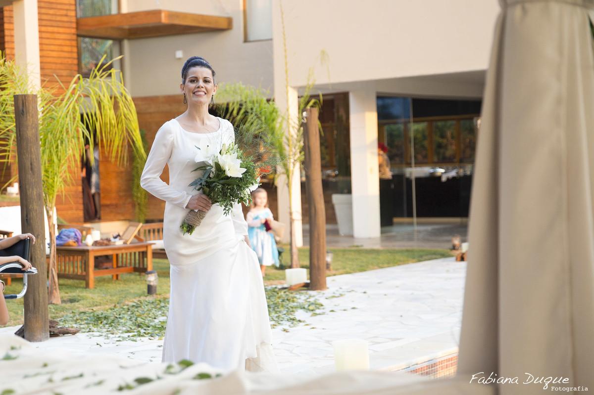 Casamento intimista em Ibiuna, São Paulo