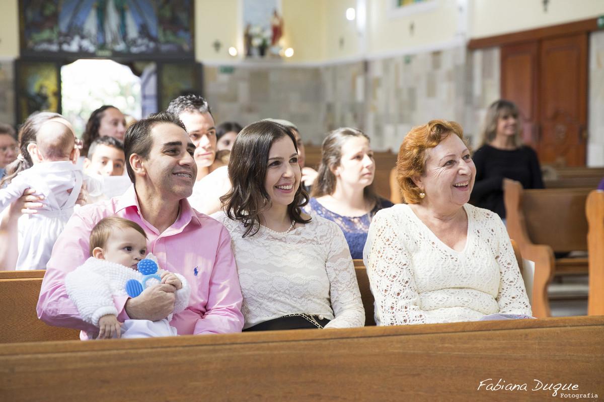 Batizado de menino na Paróquia Santo Amaro - SP