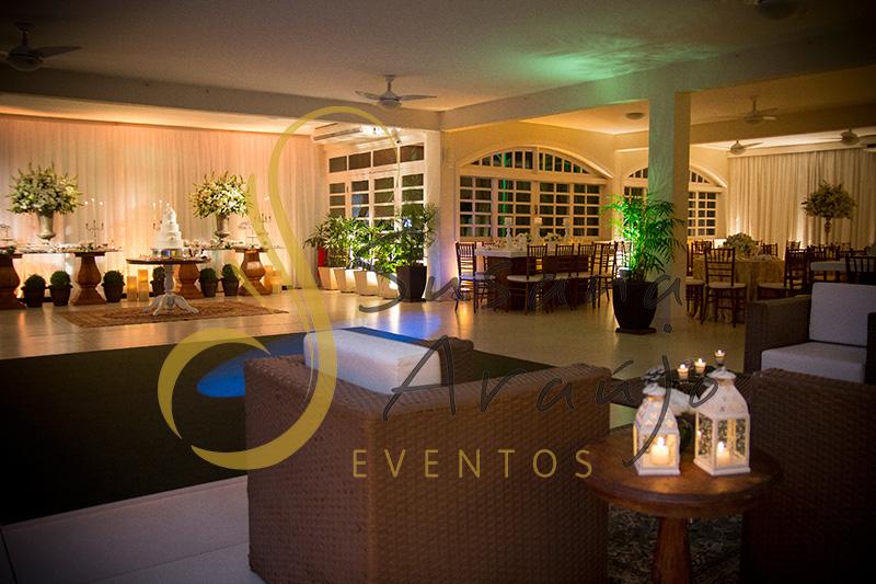 Casamento Casa da Amizade Niteroi Pista de danças carpete verde musgo lounge palha sintetica