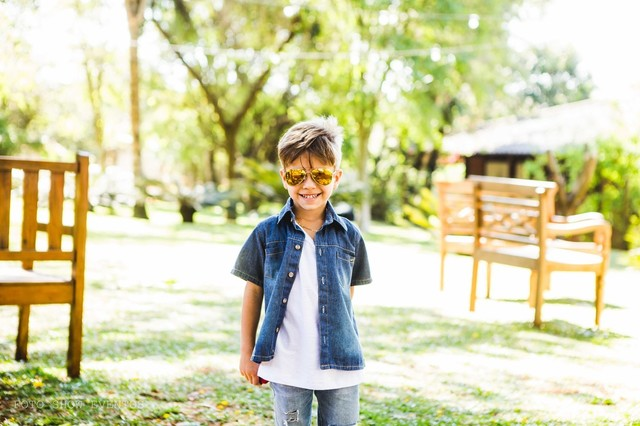 Aniversários de Aron - 5 anos