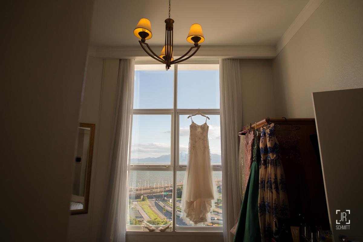 vestido da noiva hotel intercity