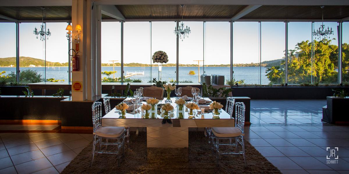 mesa dos noivos lagoa iate clube - lic - lagoa da conceição