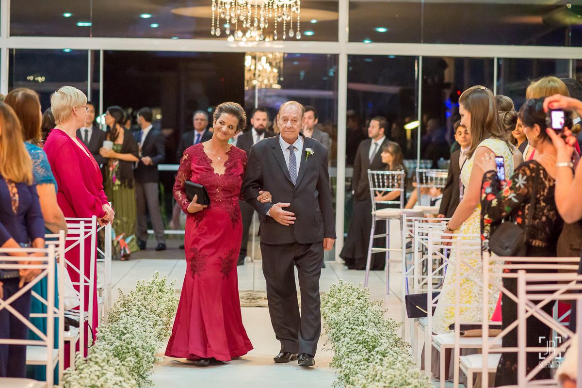 entrada dos pais do noivo