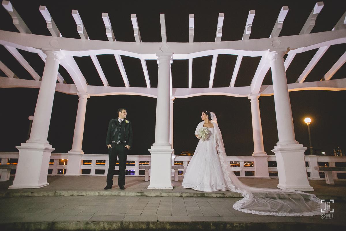 fotografia de casamento no mirante da ponte hercílio luz