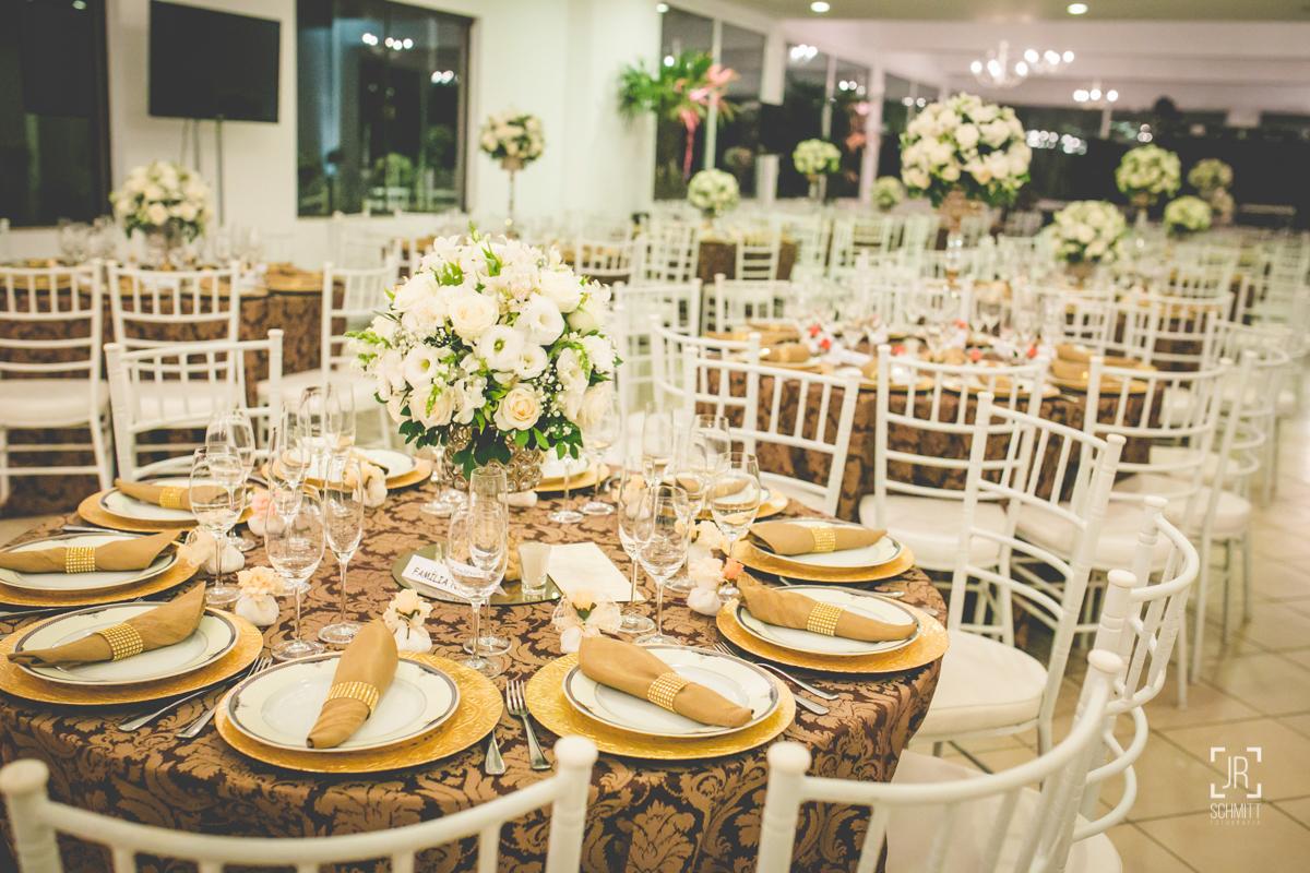 decoração de casamento - rosas brancas