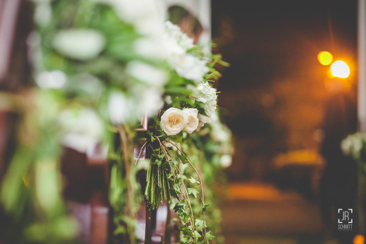 casamento flor branca na cerimônia