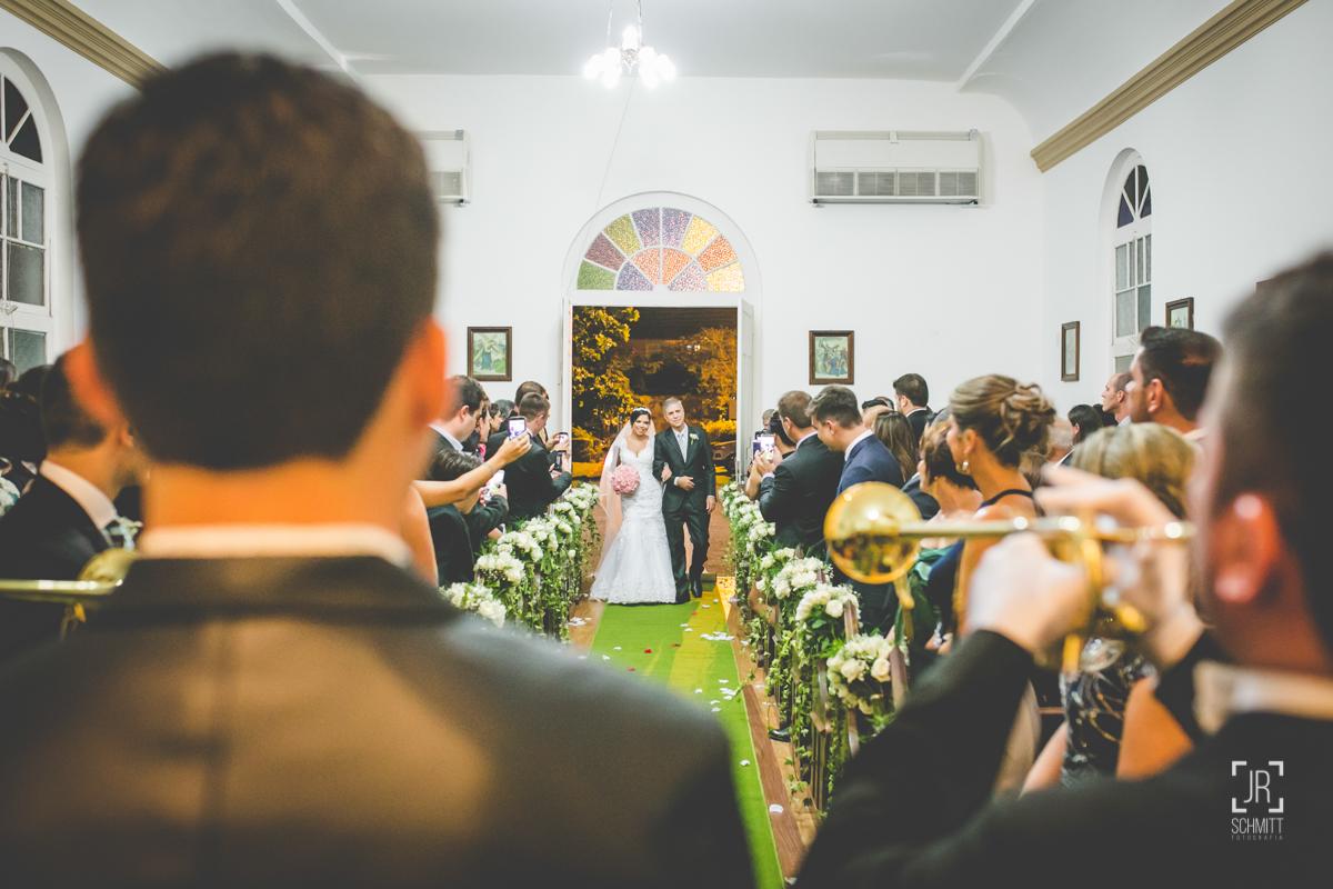entrada da noiva - casamento