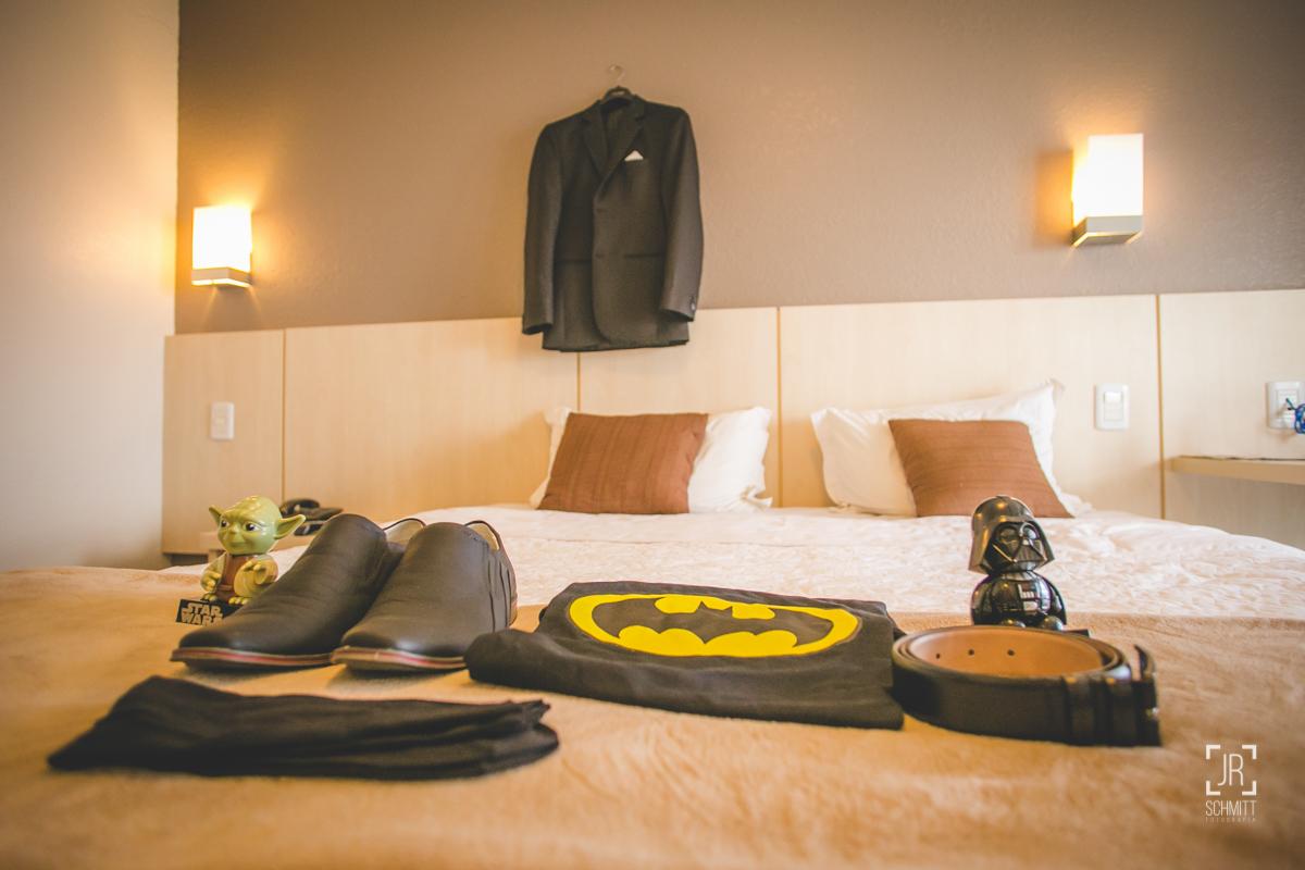 noivo na suite do hotel  intercity florianópolis - sc