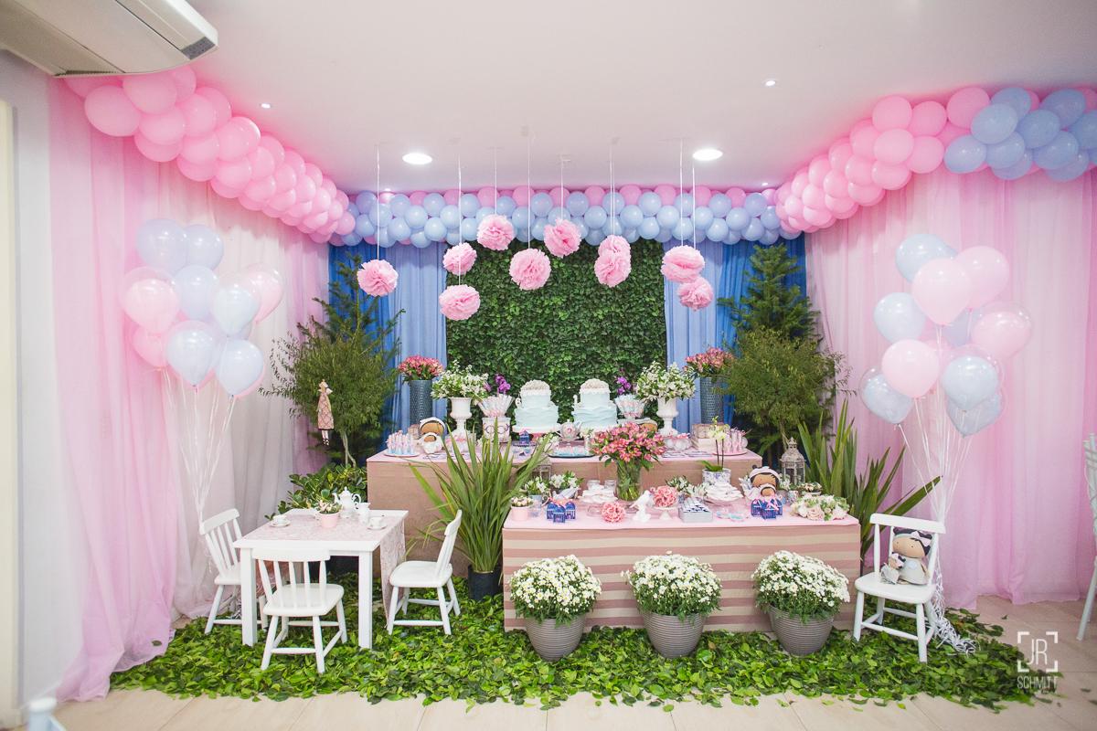 festa infantil - decoração chá de bonecas