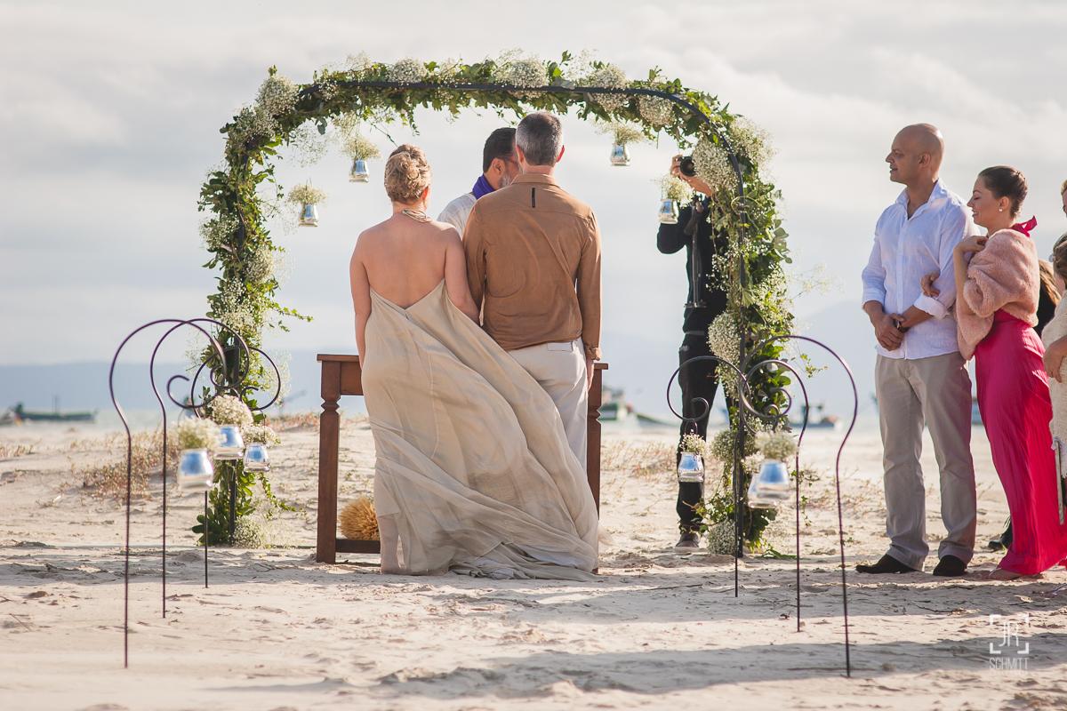 Casamento na praia em Florianópolis