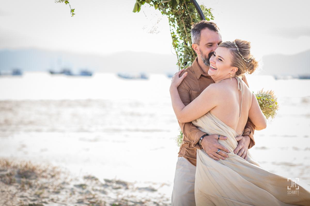 Casamento na praia com Stivy e Angela
