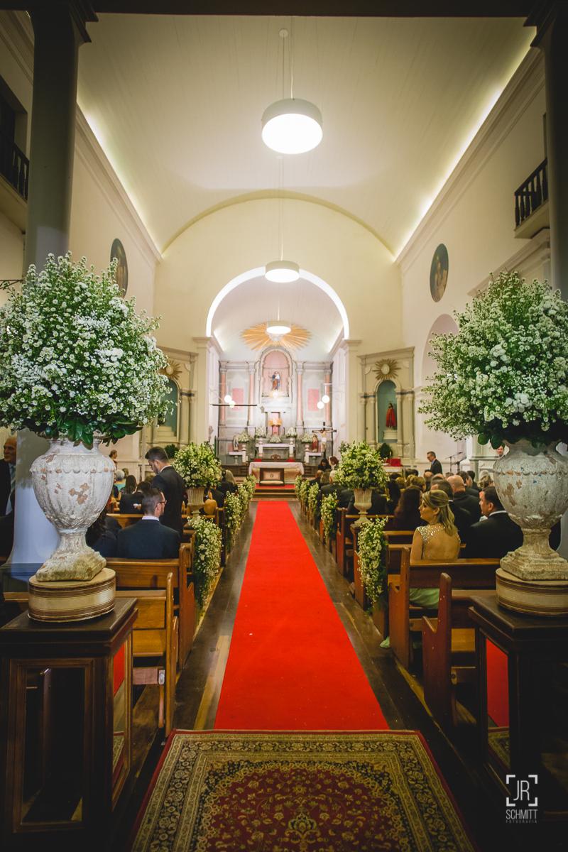 cerimônia na igreja matriz de são josé