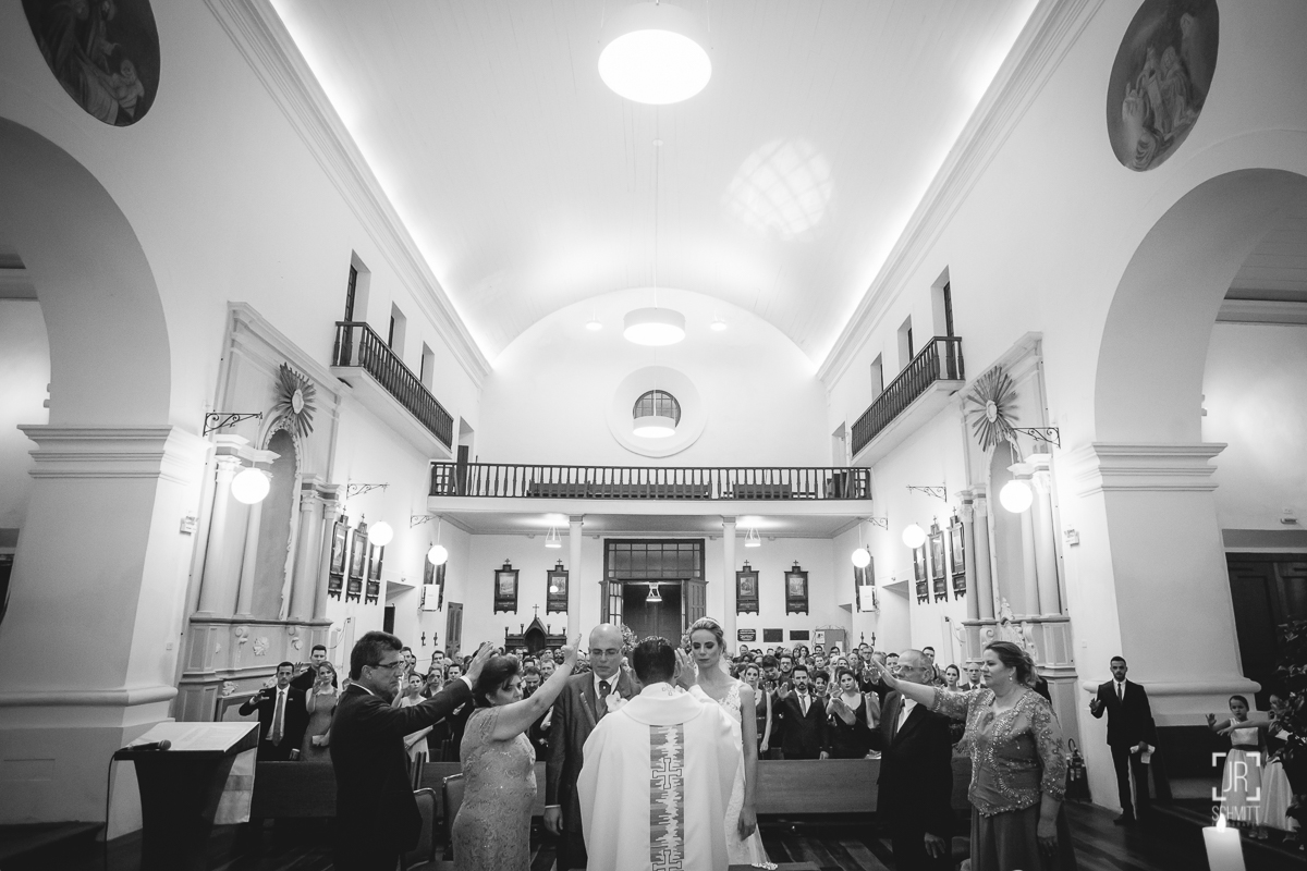 a benção dos noivos