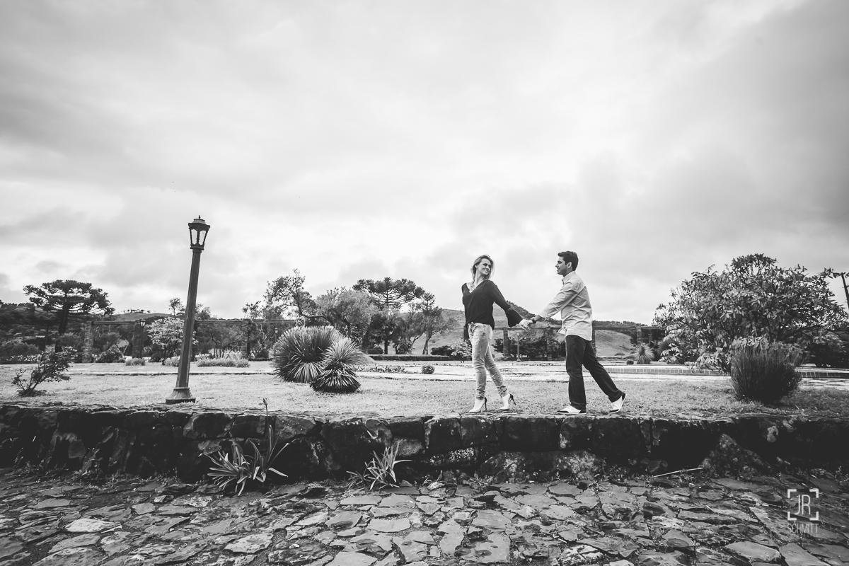 Casal apaixonado em São Joaquim-sc