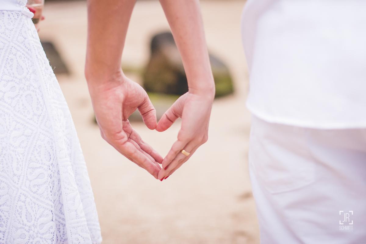coração de mãos