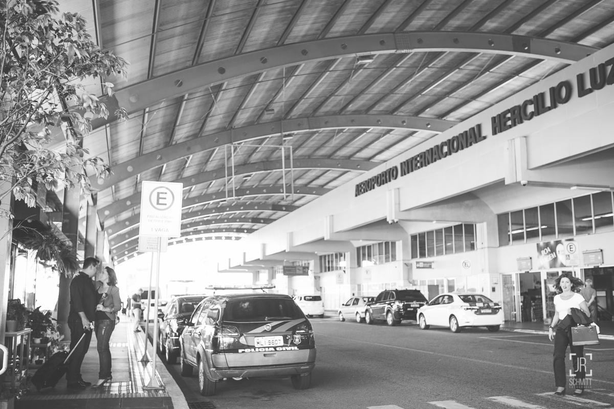 casal aeroporto hercílio luz - florianópolis - sc