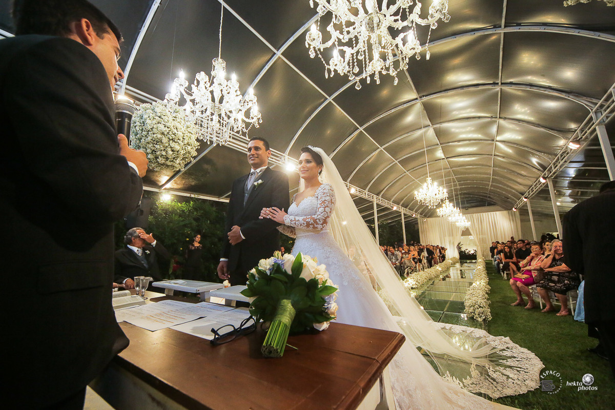 Cerimonia de casamento - fotografia de casamento - fotografo de casamento - vestido da noiva
