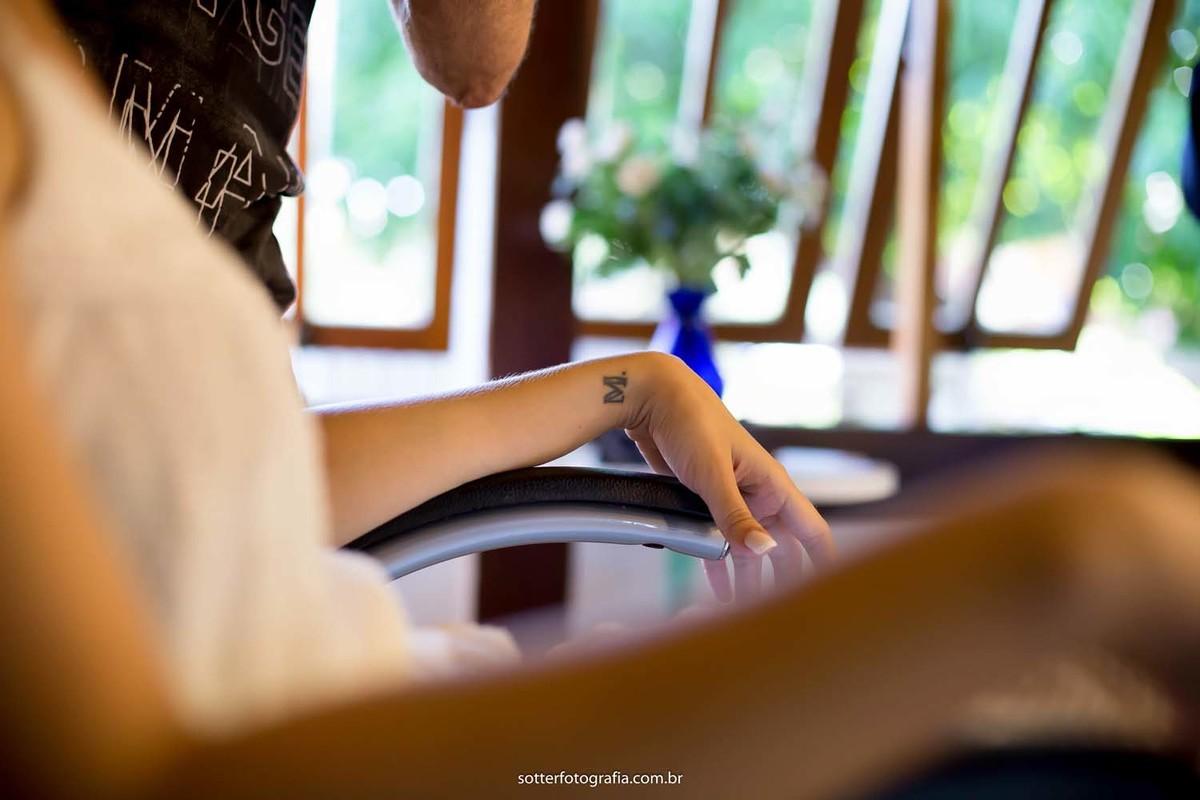 Tatuagem de noiva