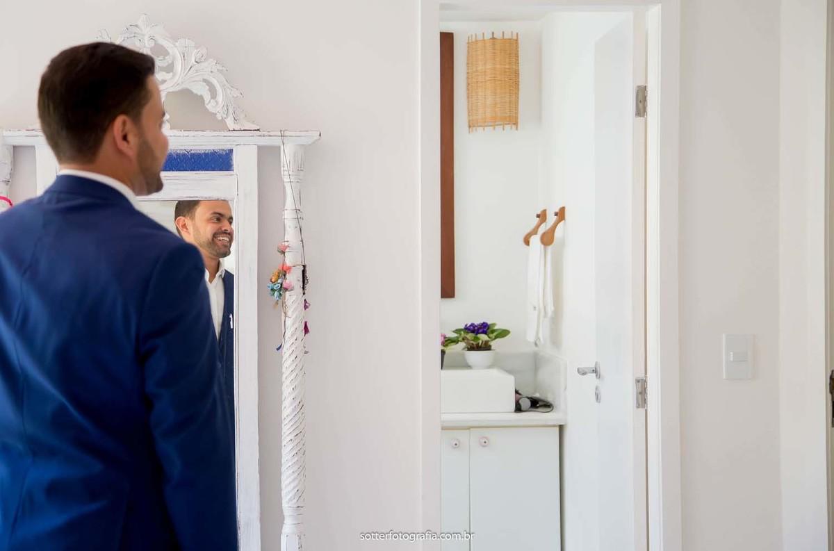 Noivo no espelho