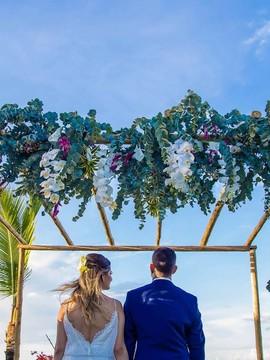 Casamento de Mariana & Matheus em Arraial d´Ajuda - Bahia
