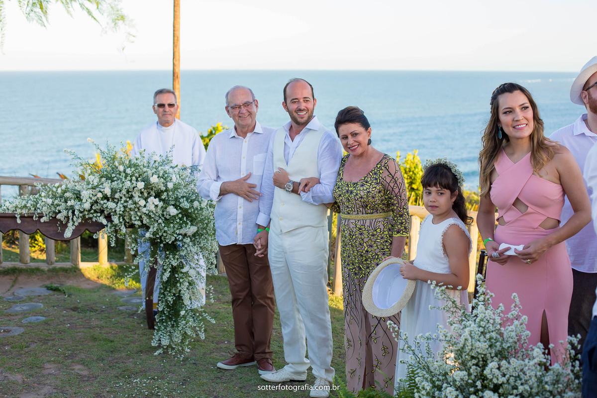 noivo esperando a noiva casamento club med trancoso fotografia de casamento em trancoso fotografo em trancoso