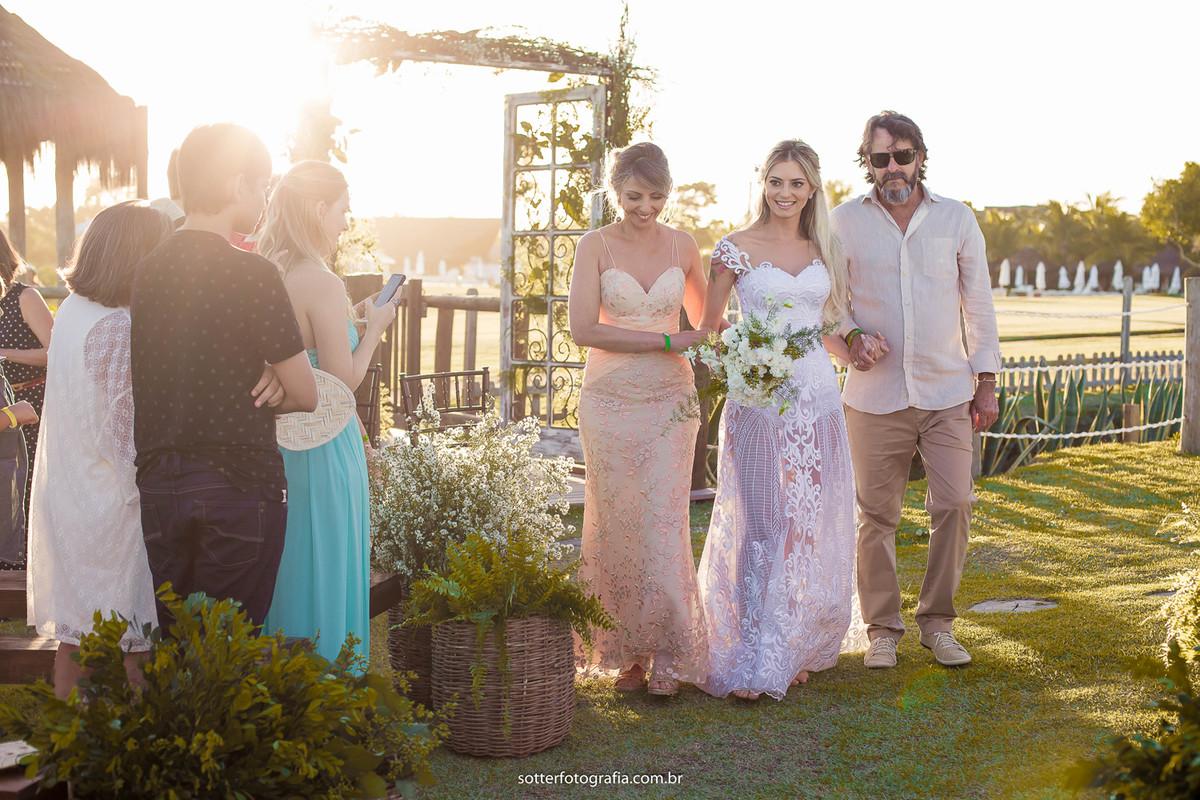 emoção da noiva por sotter fotografia trancoso