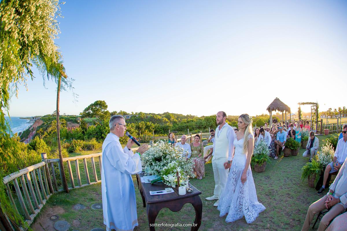 cerimonia em trancoso sotter fotografia casamento