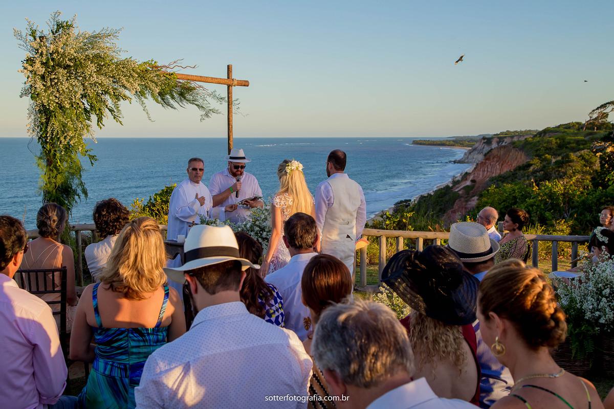 cerimônia religiosa em trancoso club med trancoso fotografo de casamento em trancoso