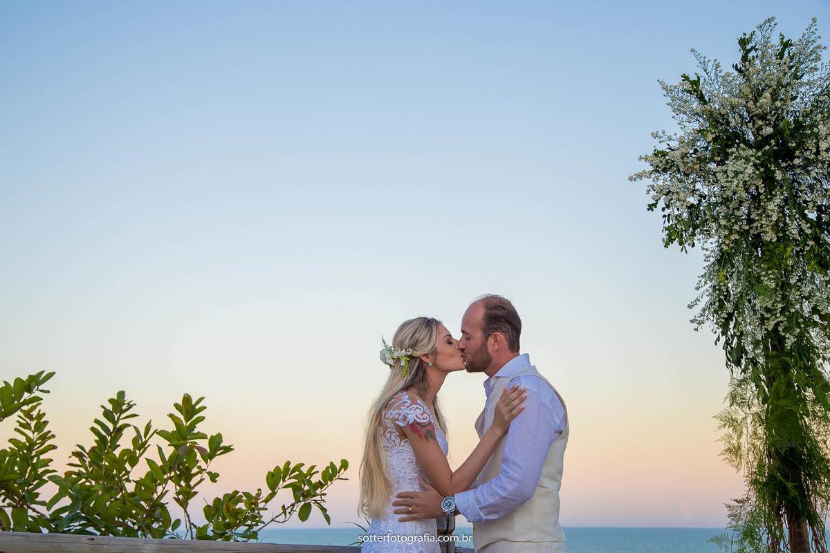 o beijo casamento trancoso sotter fotografo
