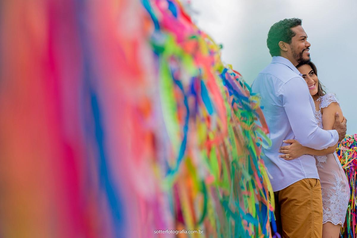 fitas coloridas save the date arraial sotter fotografia