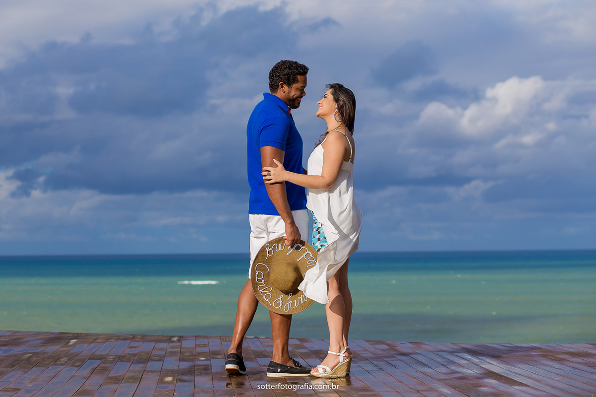 casal em arraial dajuda casamento sotter