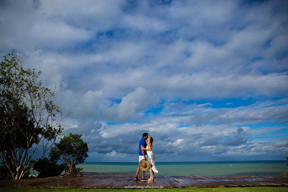 o mar estava lindo praia casamento sotter fotografia