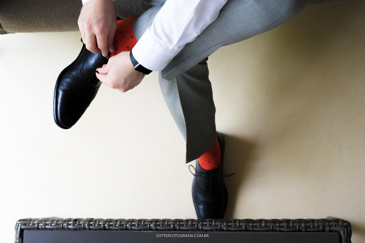 sotter fotografia, meia do noivo , casamento